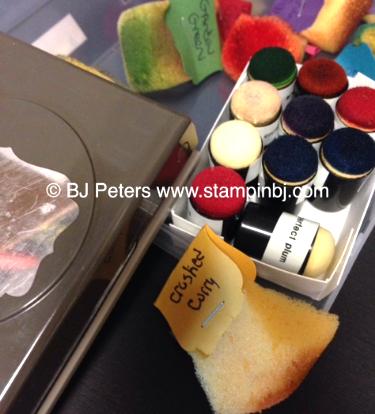 Sponge & Dauber Storage 1