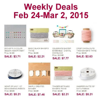Stampin' Up!, BJ Peters, Weekly Deals