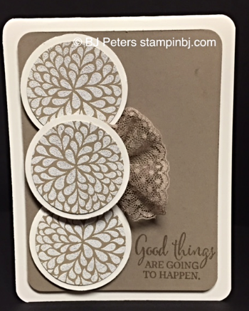 I think you're great, Stampin' Up!, BJ Peters, Blog Hop
