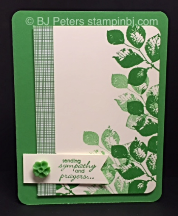 Kinda Eclectic, Stampin' Up!, BJ Peters, Petite Pairs