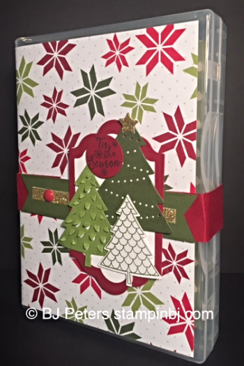 Peaceful Pines, Perfect Pines framelits, Stampin' UP!, BJ Peters, Blog Hop, Class in the mail