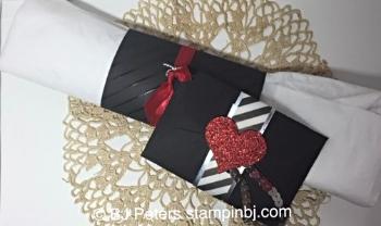 Gift Card Framelit, Silver Foil, Red Glimmer, Winter Wonderland vellum stack, Stampin' up!, BJ Peters