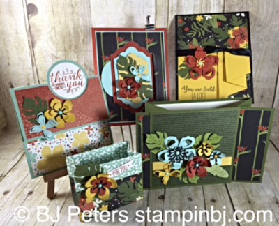 Botanical Gardens, Botanical Blooms, Botanical Builder Framelits, Stampin' Up!, BJ Peters, Class By Mail