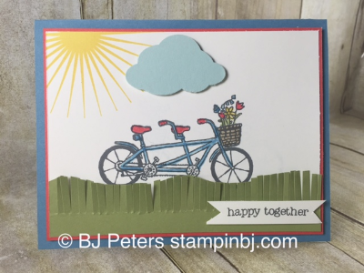 Pedal Pusher, Fringe Scissors, Stampin' Up!, Sale-a-Bration, BJ Peters, Kinda Eclectic