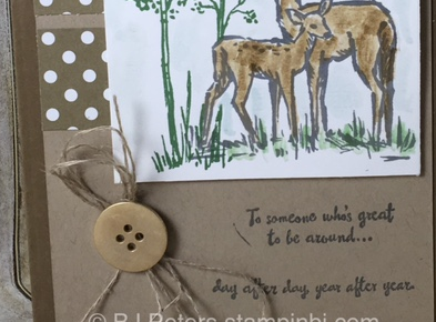 In the Meadow, Stampin' Up!, BJ Peters, Blog Hop, Masucline cards, Grand Vacation achievers blog hop