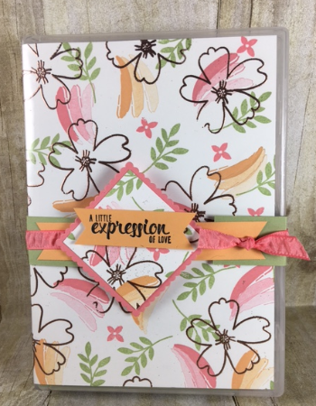 Love & Affection, Painters Palette, #stampinbj, #bjpeters, #stampinuptutorial, #classinthemail