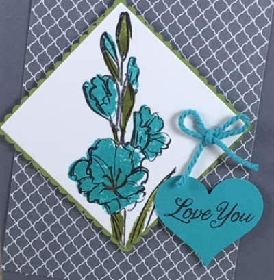 Gift of Love, Layering Squares, Stampin' Up!, BJ Peters, #stampinbj, #bjpeters, #giftoflove