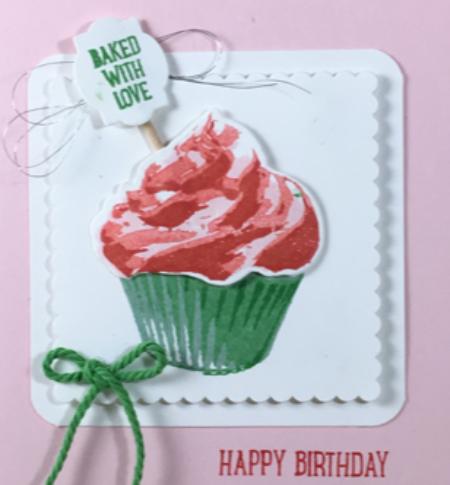 Sweet Cupcake, Cupcake Cutouts framelits, Stampin' Up!, BJ Peters, #sweetcupcake, #bjpeters, #stampinbj.com, #cupcakecutoutsframelits