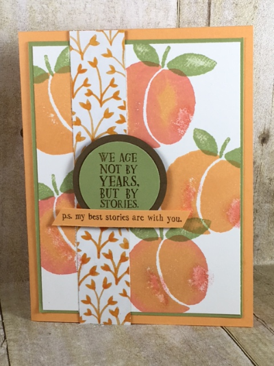 Fresh Fruit, Stampin' Up!, BJ Peters, Fruit Stand, #freshfruit, #fruitstand, #bjpeters, #stampinup, #stampinbj.com