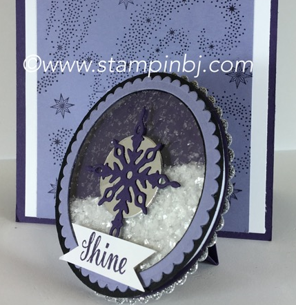 Star of light, shaker card, Stampin' Up!, BJ Peters, #shakercard, #bloghop, #staroflight, #bjpeters, #stampinbj.com
