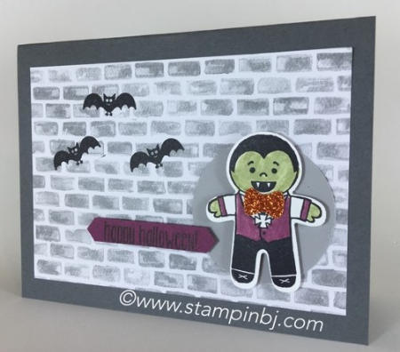 Cookie cutter halloween, Stampin' Up!, bj peters, #cookiecutterhalloween, #bjpeters, #stampinbj.com, #halloweencards