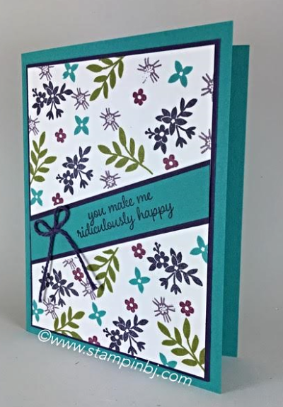 Love & Affection, Stampin' up!, BJ Peters, #love&affection, #stampinup, #bjpeters, #stampinbj.com