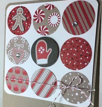 Tin of Tags, Candy cane lane designer series paper, #stampinup, #candycanelanedesignerseriespaper, #stampinbj.com