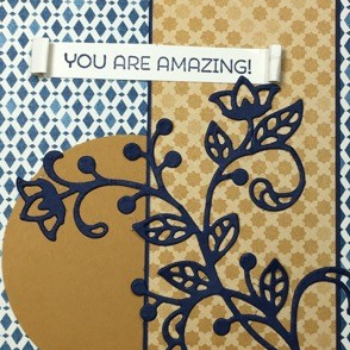 Cottage Greetings, Flourish Thinlits, Moroccan DSP, #stampinup, #flourishthinlits, #moroccandsp, #stampinbj.com, #bjpeters