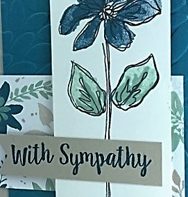 Blooms & Bliss, Stampin' Up!, BJ Peters, Better Together, #blooms&bliss, #stampinup, #bjpeters, #stampinbj.com, #bettertogether, #sympathycard