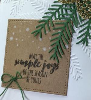 Christmas pines, stitched shapes framelits, Stampinup, BJ PEters, #stitchedshapes, #christmaspines, #pinebough, #stitchedshapes, #staminbj.com