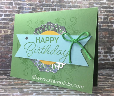 Birthday Blast, Stampin' Up!, BJ Peters, Occasions catalog, #birthdayblast, #stampinup, #bjpeters, #occasions2017, #birthdaycard, #rubberstamping, #handstampedcard,