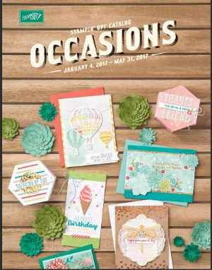 Occasions catalog, Stampin' Up!, BJ Peters
