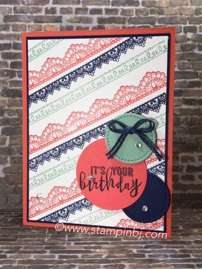 Delicate Details, Balloon Adventures, Stampin' Up!, #delicatedetails, #balloonadventures, #stampinup, #stampinbj.com, #stampinbj.com, #birthdaycard, #saleabration, #occasions, #bloghop
