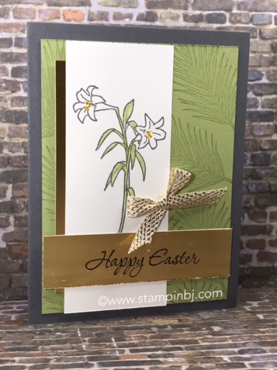 Easter Message, Stampin' Up!, #eastermessage, #eastercard, #religiouscard, #stampinup, #stampinbj.com, #bjpeters, #papercrafting, #stampinupdemonstrator