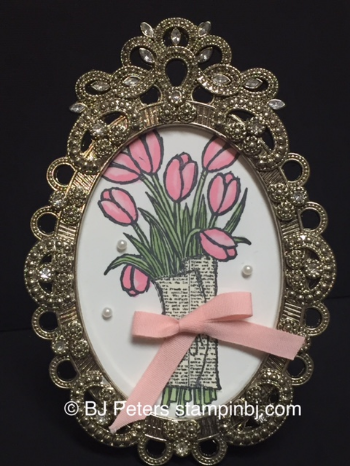 Love is Kindness, Frame, BJ Peters, Stampin' Up!