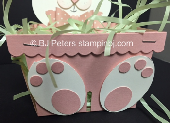 Stampin' Up!, Berry Basket, BJ Peters, Easter, Bunny