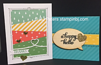 Tin of Cards, Stampin' Up!, BJ Peters