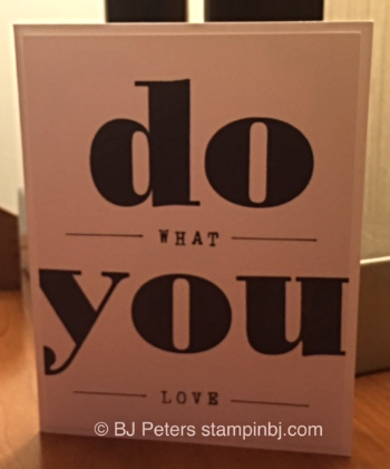 Larger Than Life, Stampin' Up!, BJ Peters, Inspire create share 2015