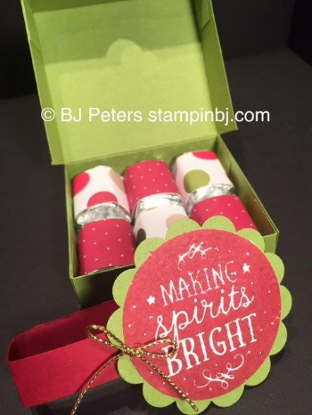 Nugget Box, Among the Branches, Stamps in the Mail, Class in the Mail, Stampin' up!, BJ Peters