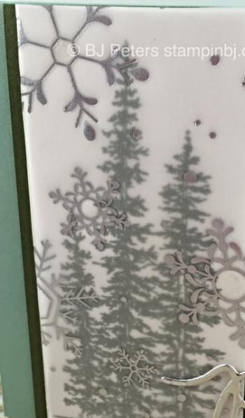 Wonderland, Holidays Fancy Foil Designer Vellum, Stampin' Up!, BJ Peters
