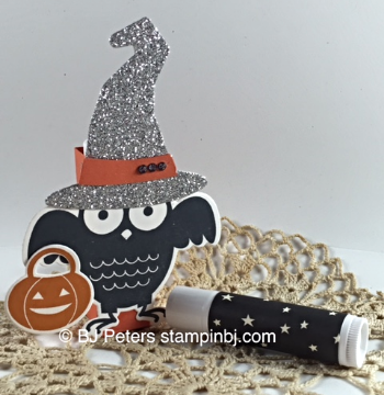 Howl-o-ween Treat, Boo to You Framelits, Halloween treats, STampin' Up!, BJ Peters
