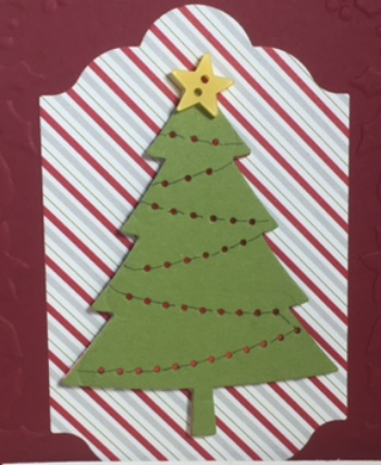 Peaceful Pines, Stampin' Up!, BJ Peters, Lots of Labels framelits, Perfect Pines