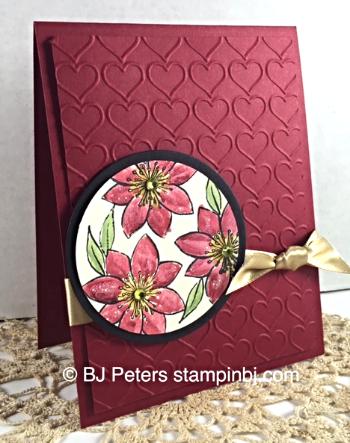 Paper Pumpkin, Stampin' Up!, BJ Peters, Dazzling Details, Watercoloring