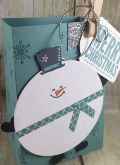 Snow Place, Circles framelits, Stampin' Up!, BJ Peters