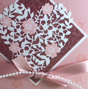 Love Blossoms, Bloomin' Heart Thinlit, Stampin' Up!, BJ Peters, Class in the mail