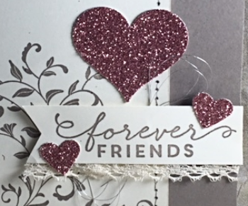 First Sight, Stampin' Up!, BJ Peters, BLog Hop, Occasions, Blushing Bride Glimmer