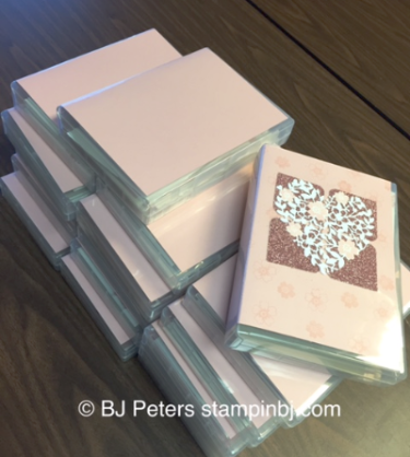 Love Blossoms Card Box, BJ Peters, Stampin' Up!