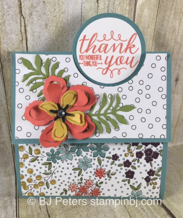 Wildflower fields, Stampin' Up!, BJ Peters, Botanical Builder,  You're So Lovely
