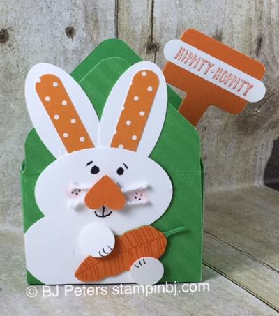 Easter Basket, Envelope Punch Board, Punch Art, Stampin' Up!, BJ Peter