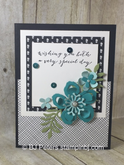 Botanical Blooms, For the new two, Everyday Chic, Stampin' Up!, BJ Peters