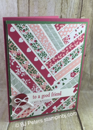 Love Blossoms, Stampin' Up!, BJ Peters