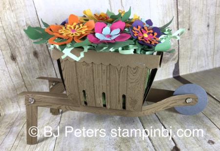 Botanical Blooms, Botanical Garden, Berry Basket, Stampin' Up!, BJ Peters