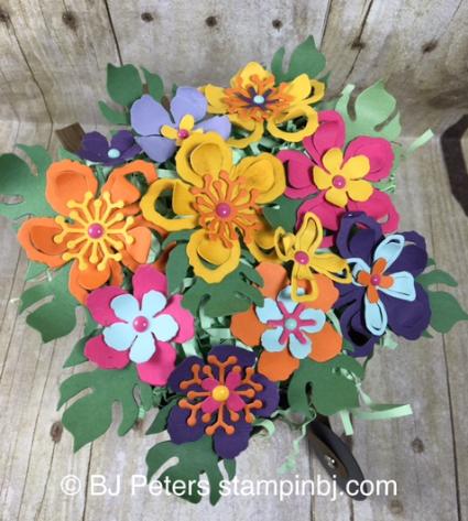 Botanical Blooms, Botanical Builder, Stampin' up!, BJ Peters