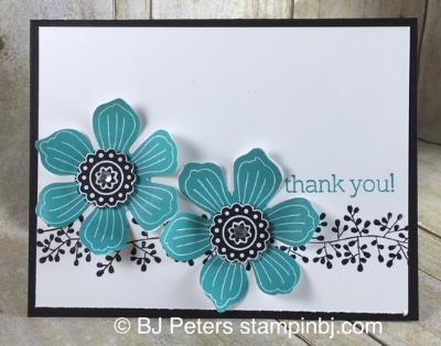 Bloom For You, Bordering Blooms, Big News, Stampin' Up!, BJ Peters, #stampinbj, #bjpeters, #bloomforyou, #borderingblooms