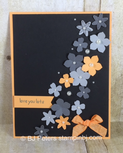 Grateful Bunch, Itty Bitty Accents punch pack, Petite Petals, Stampin' Up!, BJ Peters, #stampinbj, #bjpeters