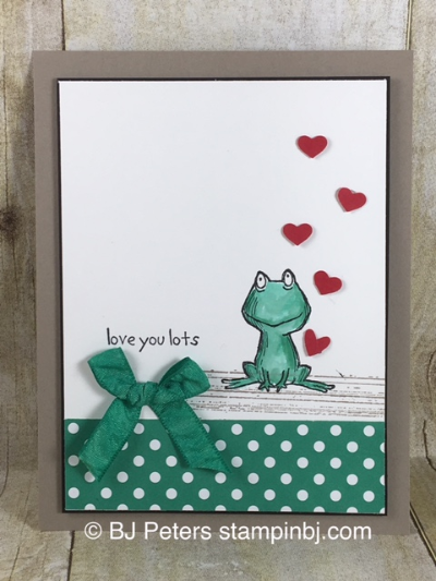Love You Lots, 2016-2018 In Colors, Stampin' up!, BJ Peters, #stampinbj, #bjpeters