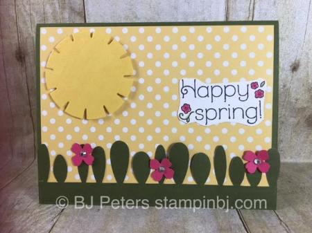 Lovely Little Wreath, Paper Pumpkin, April 2016, Stampin' up!, BJ Peters, #bjpeters, #stampinbj, #paperpumpkin, #livelylittlewreath