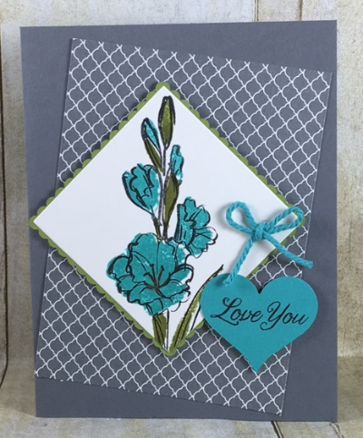 Gift of Love, layering Squares, Stampin' Up!, BJ Peters, #bjpeters, #stampinbj, #giftoflove