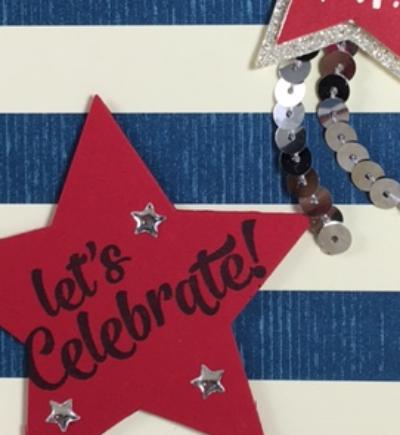 Confetti Celebration, Stampin' Up!, Stars framelits, BJ Peters, #stampinbj.com, #bjpteres, #confetticelebration