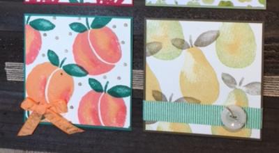 Fresh Fruit, Fruit Stand, Layering Love, Frame, #stampinbj.com, #bjpeters, #freshfruit, #fruitstand, #layeringlove